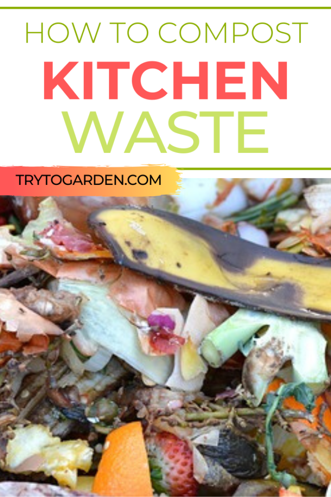How to Compost Kitchen Waste for Your Yard and Garden