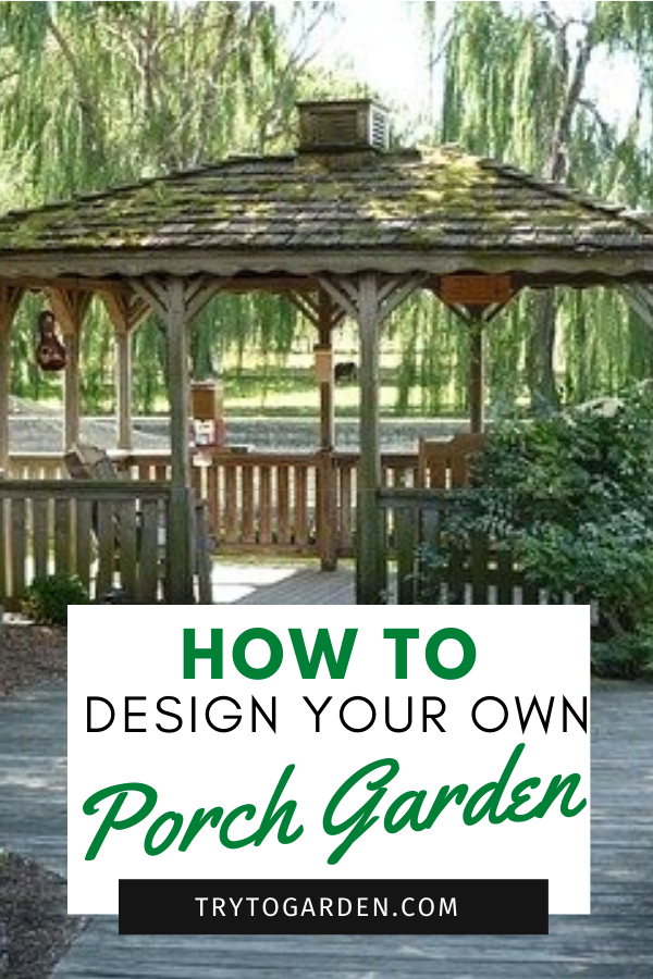 Landscaping Around a Porch or Deck