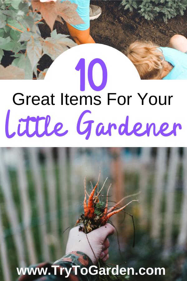 10 Great Items For Your Little Gardener