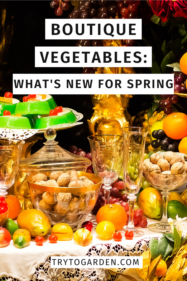 Boutique Vegetables: What's New For Spring article cover image