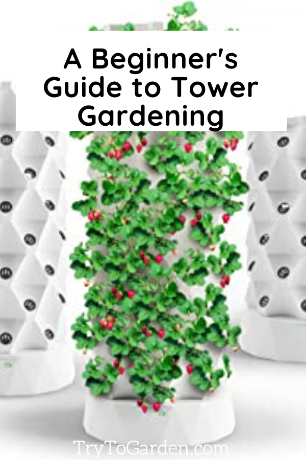 A Beginner's Best Guide to Tower Gardening article cover image