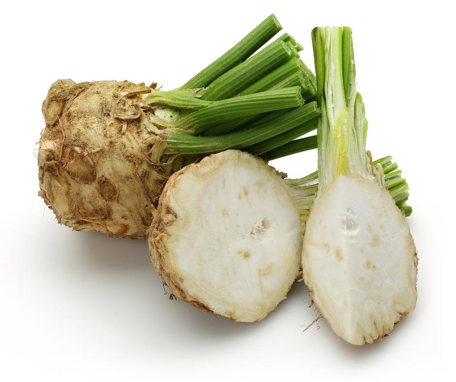 How to harvest celeriac